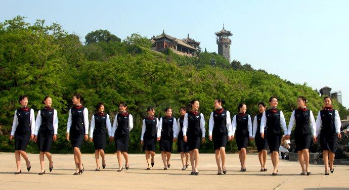 蓬莱阁旅游局发货季--乐好英超工作服