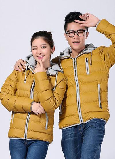冬季工作服-黄色棉衣YC99L-501A