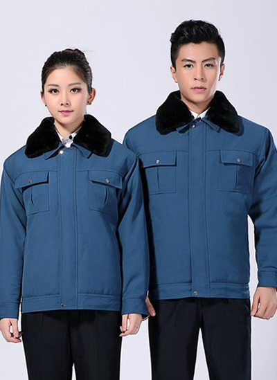 2019冬季新款男女棉外套工作服短款制服 - 503A - 乐好英超