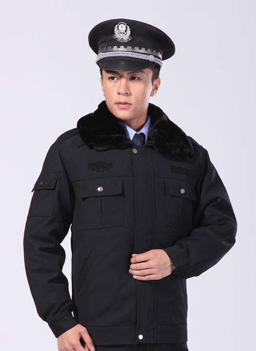 2020新款冬季深蓝色短款制服工作服棉外套 - 乐好英超