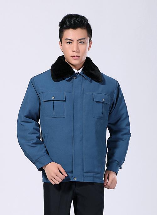 2019新款冬季短款制服棉外套工作服 -503A - 乐好英超
