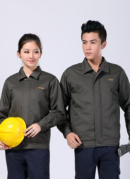 2020冬季新款棉衣短款工作服铁灰防静电 - 502A - 乐好英超