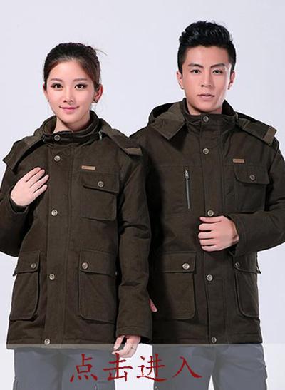 2020冬季新款棉衣军绿色中长款涤棉斜纹 - 501A - 乐好英超